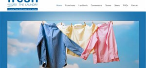 South African Website Design - Fresh Laundry Franchise